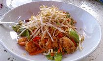 Gluten-free Pad Thai at Molly Woo's