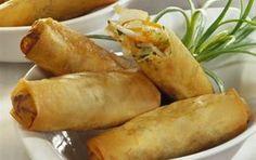 ΝΗΣΤΙΣΙΜΑ   Συνταγή για σπρινγκ ρολς, νηστίσιμα ρολάκια λαχανικών, δημοφιλές απωανατολίτικο έδεσμα. Greek Recipes, Asian Recipes, Ethnic Recipes, Greek Appetizers, China Food, Tasty Videos, Spring Rolls, International Recipes, Finger Foods