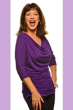 If you're a BABY BOOMER woman over 50 or 60, you might like these cool tops designed by a BABY BOOMER chick - The tops cover your arms, your tummy, your butt... and are made out of flattering MODAL fabric and sold at a great price #babyboomers - read at http://boomerinas.com/2013/07/micro-modal-tops-covered-perfectly-fits-women-over-50-60/