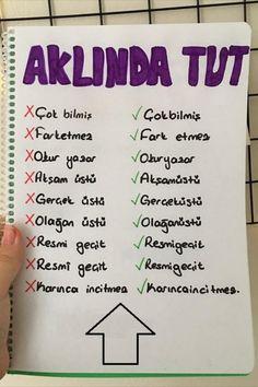 School Motivation, Study Motivation, Turkish Lessons, Math Quotes, Learn Turkish Language, Walmart Funny, Class Notes, School Study Tips, Language Study