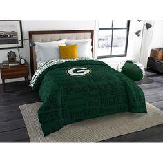 Green Bay Packers NFL Full Comforter Anthem 76 x 86