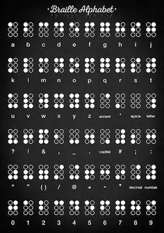 Education Discover Braille alphabet by Zapista Zapista Braille alphabet by Zapista Zapista Source by Alphabet Code Braille Alphabet Sign Language Alphabet Phonetic Alphabet Alphabet Symbols Alphabet Art Alphabet Design Alfabeto Braille Life Hacks Alphabet Code, Braille Alphabet, Sign Language Alphabet, Alphabet Wall Art, Alphabet Symbols, Phonetic Alphabet, Sign Language Words, Alphabet Design, Ancient Alphabets