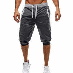 df82638dbe Mens Harem Pants Slacks Shorts Sport Sweatpants Trousers – widezee Shorts  Nike, Harem Shorts,