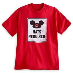 Mickey Mouse Ear Hat Tee for Adults