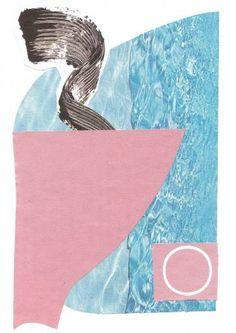 "Saatchi Art Artist Deja Mar; Collage, ""illusional poetry"" #art"