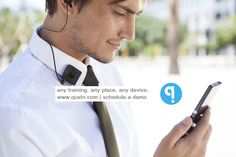 Send any kind of training to your distributed feet-on-street on any device - with or without internet - through Qustn. Try now! www.qustn.com