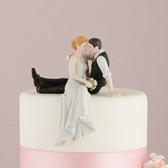 'The Look of Love' Bride and Groom Couple Figurine