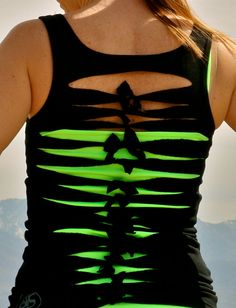 Love this! Great for a workout shirt! (Although I dont recommend for people with back fat like me)