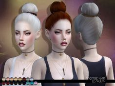 Promise Hair  Found in TSR Category 'Sims 4 Female Hairstyles'