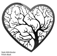 Tree of Love CNC .dxf format file for Plasma,Laser,Water-jet Clip Art Vector in Business & Industrial, Printing & Graphic Arts, Printing & Graphic Essentials Metal Tree Wall Art, Metal Art, Cnc Cutting Design, Herz Tattoo, Images Star Wars, Heart Tree, Tinta China, Stock Image, Scroll Saw Patterns