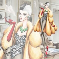 Cruella De Vil - Disney Villains Haute Couture