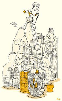 Drawing by Beryl Kwok