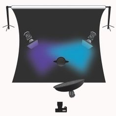 Lindsay Adler Photography - Creative Studio Lighting - Beauty Dish + 2 Gelled Rim Lights Diagrahm