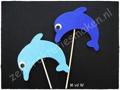 Dolf de Dolfijn Tree Crafts, Crafts For Kids, Arts And Crafts, School Treats, Dolphins, Diy For Kids, Preschool, Amelia, Drawings