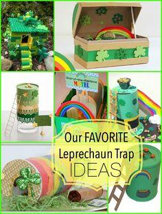 our favorite leprechaun trap ideas: