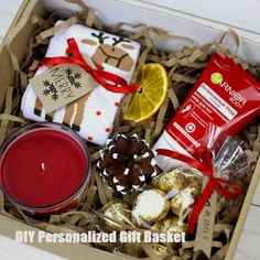 Gorgeous DIY Christmas Gift Baskets for Teen Girls Xmas gift suggestions – strange Xmas ideas Out of all items that we've previously discovered und Christmas Gift Baskets, Christmas Gifts For Friends, Christmas Gift Box, Christmas Presents, Holiday Gifts, Kids Christmas, Christmas Crafts, Christmas Recipes, Homemade Gifts