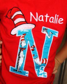 Great idea for Read across America. T-Shirt  Dr. #Seuss week