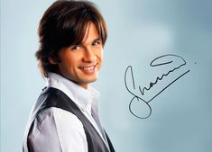 #Shahid Kapoor. My #bollywood crush (and favorite BWood dancer). I did a 2-second) speaking scene with him in #BadmaashCompany, no joke! Can u find me?