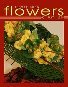 02 May 2015… A Year in Flowers Put on your Best Hat to celebrate the Kentucky Derby at Churchill Downs, Louisville, Kentucky (it's today!)  www.FlowerShowFlowers.com For Floral Design…TIPS, PICS,  MAGAZINE and HELPFUL HINTS