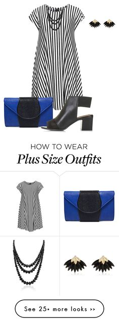 """plus size just dress it2/chic"" by kristie-payne on Polyvore"