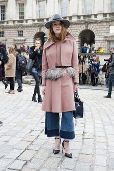 Street Style, London Ready to Wear Fall 15', Buro 24/7