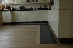 houten vloer combinatie met tegels - Google zoeken