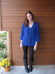 The first Stitch Fix! have you signed up? Link on blog post!
