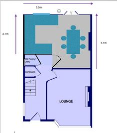 Are you thinking of going open plan this year? With your kitchen? Before, during and after of our kitchen remodel. Open Plan Kitchen Diner, Kitchen Floor Plans, The Plan, How To Plan, Utility Cupboard, Extension Plans, Kitchen Utilities, Glass Room, Making Space
