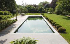 zwemvijver, strakke vorm ‹ De Mooiste Zwembaden