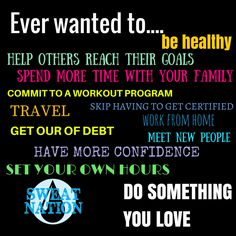If you're feeling stuck where you are right now, love health and fitness & feel like you were meant for more, we think this may be a great solution. Beachbody coaching allowed us to create a life we love. http://soreyfitness.com/beachbody-2/join-us-beachbody-coach/