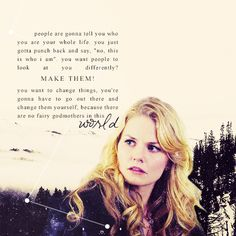 Emma's advice to Ashley. One of my favorite things about OUAT is the girl power.
