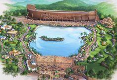 the future Ark exhibit/park located near the Creation Museum