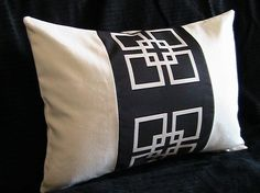 I love this one too. Handmade pillow.