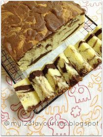 Thanks to Bake Along hosts Lena , Joyce and Zoe for having this Marble Butter cake as this month theme. Thanks again to Jeannie for sha...