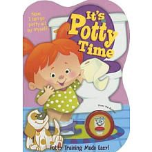 It's Potty Time Girls Book