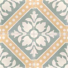 Leroy merlin ciment carrelages 6 euros each Hall Tiles, African House, Celadon, Victorian Tiles, Barn Renovation, House Tiles, Tiles Texture, Stone Flooring, Ceramic Painting