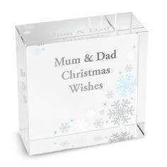 Snowflake Medium Crystal Token - Christmas Gifts