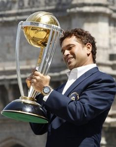 Sachin Tendulkar Appointed as Brand Ambassador for Cricket World Cup 2015