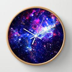 Wall Clock Design 532409987196254686 - Galaxy Wall Clock by Matt Borchert Source by Theme Galaxy, Galaxy Decor, Diy Galaxy, Galaxy Crafts, Bedroom Themes, Girls Bedroom, Bedroom Decor, Bedroom Ideas, Bedrooms