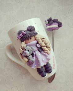 1 million+ Stunning Free Images to Use Anywhere Fimo Clay, Polymer Clay Projects, Polymer Clay Art, Polymer Clay Jewelry, Porcelain Clay, Cold Porcelain, Candy Background, Cute Mug, Clay Cup