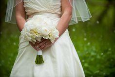 A classic bridal bouquet for the Kennedy wedding #FlowerStationNj