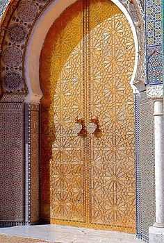 Fes one of the four imperial cities of Morocco. .facebook.com. Exterior DoorsAndalusiaIslamic ... & Islam Doors | the doors of the world | Pinterest | Islam Doors ...