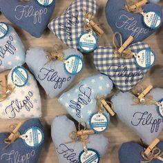 Baby Boy Shower, Baby Shower Gifts, Felt Crafts Diy, Shots Ideas, Baby Shawer, Baby Shower Desserts, Twin Babies, Pin Cushions, Cross Stitch Embroidery