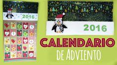 Calendario de Adviento para niños con goma eva y cartón - http://madreshoy.com/calendario-adviento-ninos-goma-eva-carton/
