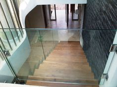 Image result for glass stair child gates