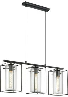 Cage Pendant Light, Light, Pendant Lamp, Home And Living, Energy Saving Bulbs, Eglo, Pendant Light, Vintage Designs, Ceiling Lights