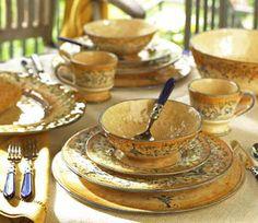 "dinnerware: Vietri ""Francesca"""
