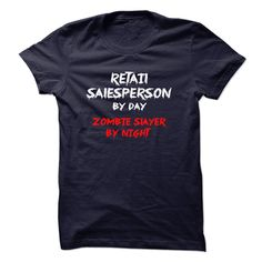 #Petst-shirt... Cool T-shirts  Worth :$19.00Purchase Now  Low cost Codes View photographs & photographs of RETAIL SALESPERSON by day zombie slayer by night t-shirts & hoodies:In the event you do not completely love our design, you'll be able to SEARCH your....