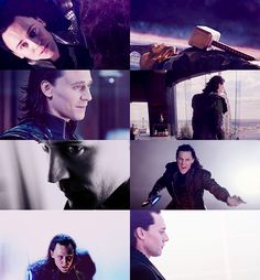 Loki, my favorite non-hero (that's what people say but I like to consider him not a villain but a prince)