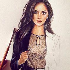 Для @valentivitel #illustration #fashionillustration #watercolor #drawing #draw #art #artist